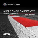 Save The Date: Alfa Romeo Sauber C37
