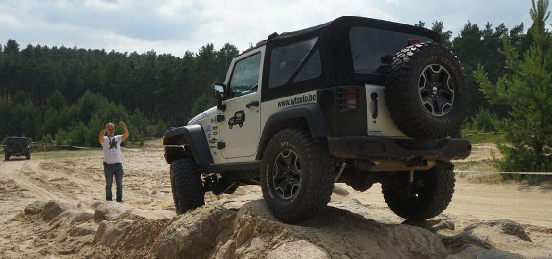 Offroad Einsteiger-Training für alle Jeep® Besitzer
