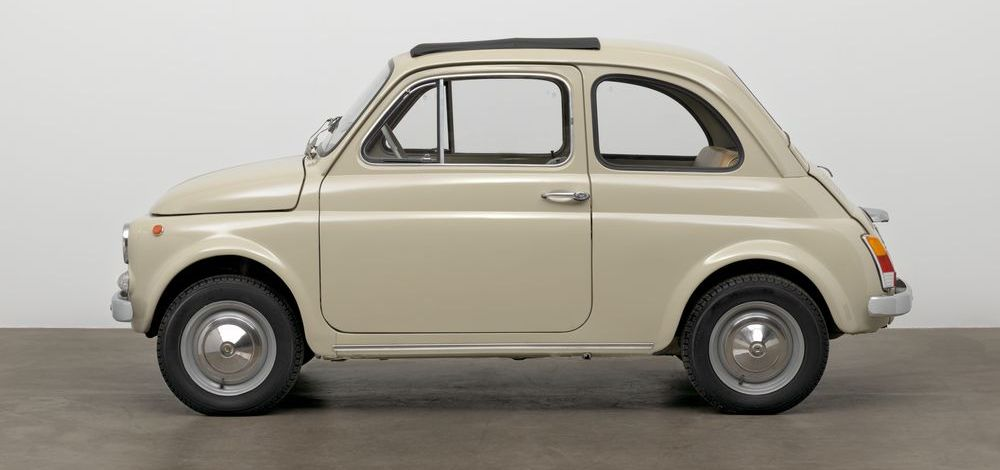 "Fiat 500 ist im New Yorker Museum of Modern Art Teil der Ausstellung ""The Value of Good Design"""