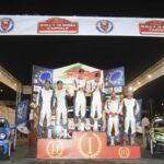 Rallye Rom: Dreifacherfolg für Abarth 124 rally in drei Wertungen