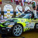 Rallye-Europameisterschaft / Rallye Barum Zlín: Wieder Klassensieg für den Abarth 124 rally