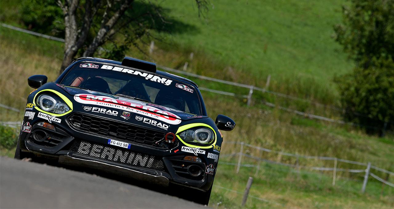 FIA R-GT Cup: Zweiter Gesamtsieg in Folge für den Abarth 124 rally
