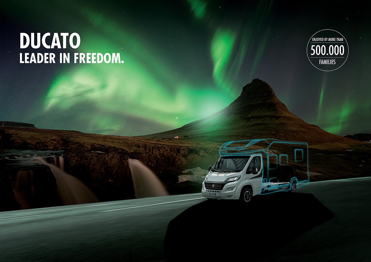 Fiat Professional auf dem Caravan Salon 2019: Neues Modelljahr des Fiat Ducato festigt Ruf als bestes Basisfahrzeug für Reisemobile