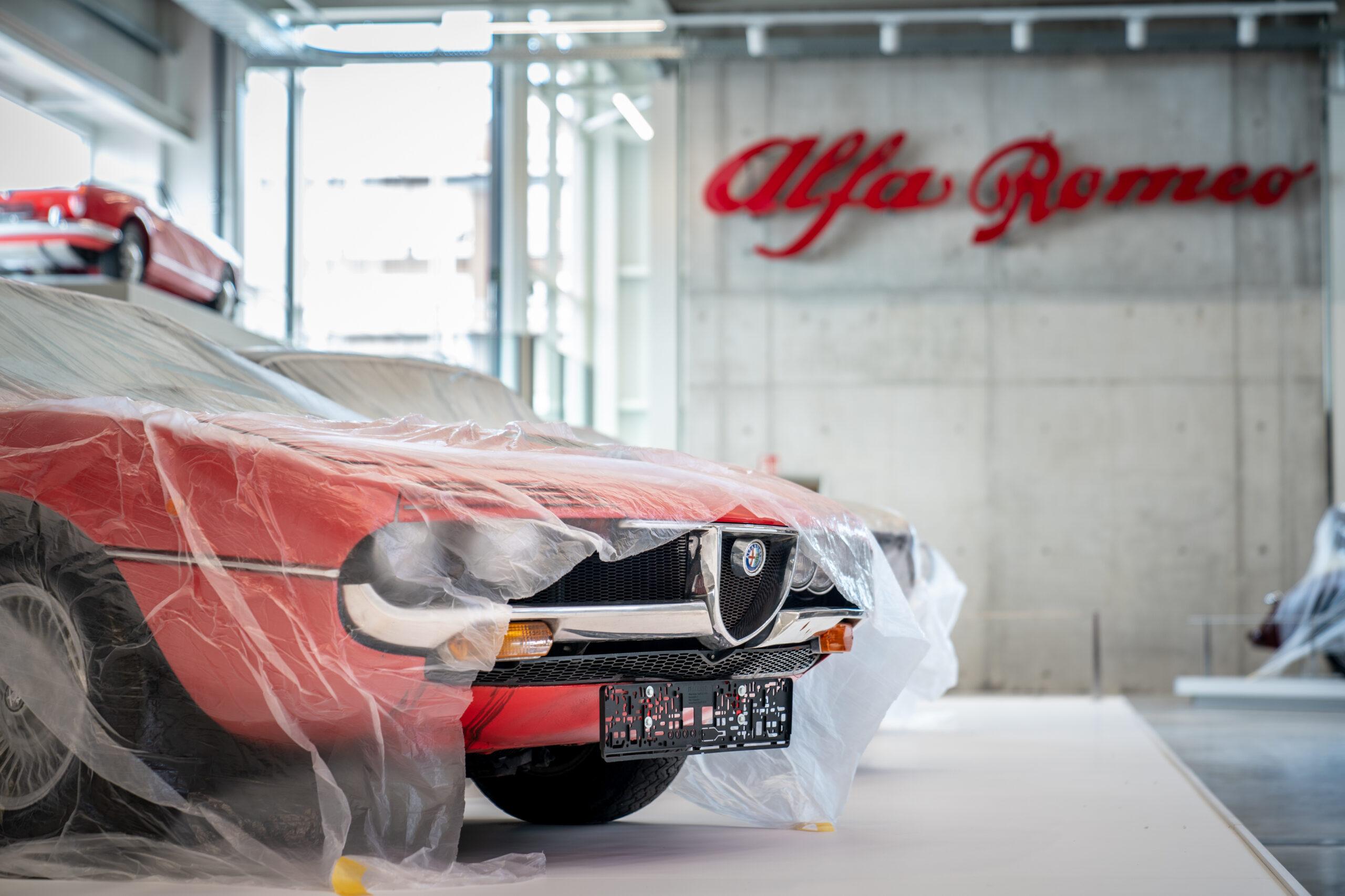 "Technik Museum Sinsheim mit Sonderausstellung ""Mythos Alfa Romeo"""