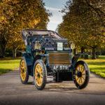"""Fiat 3½ HP von 1899 startet beim """"London to Brighton Veteran Car Run"""""""