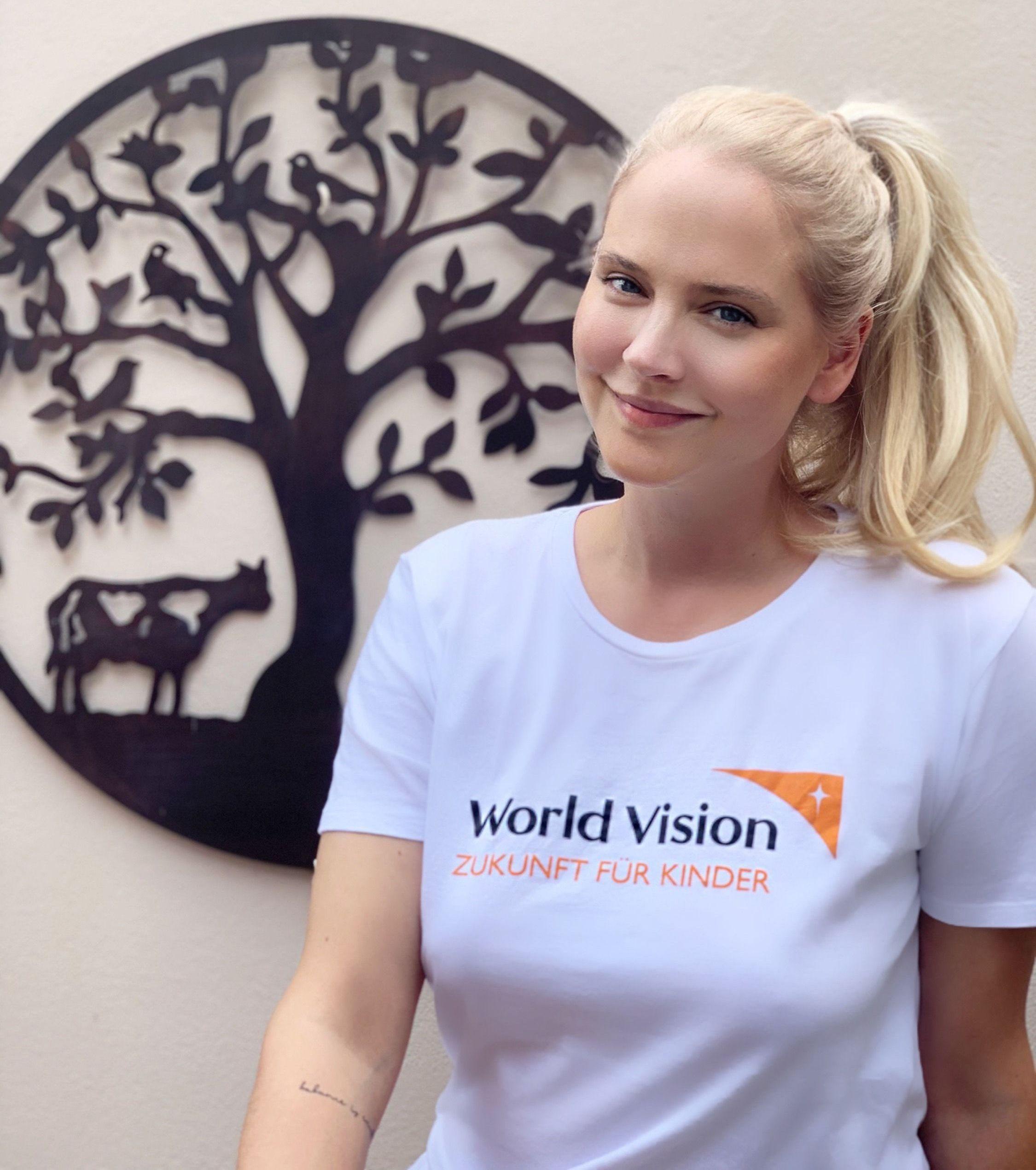Tiana Pongs ist neue Botschafterin von World Vision