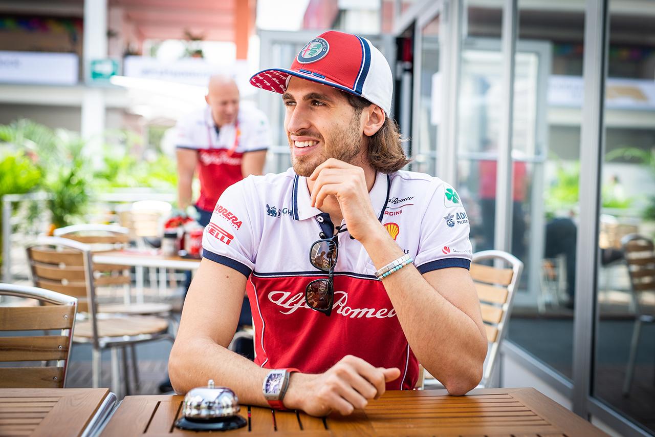 Alfa Romeo Racing und Antonio Giovinazzi bleiben zusammen in der Formel 1