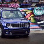 Jeep Renegade auf der Bühne des FiftyFifty Lab in Brüssel