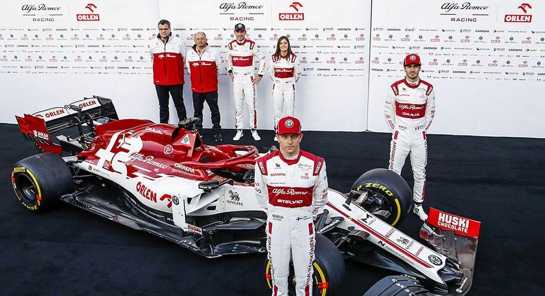 FIA Formel 1 Weltmeisterschaft 2020 – Alfa Romeo Racing ORLEN C39 in Barcelona vorgestellt