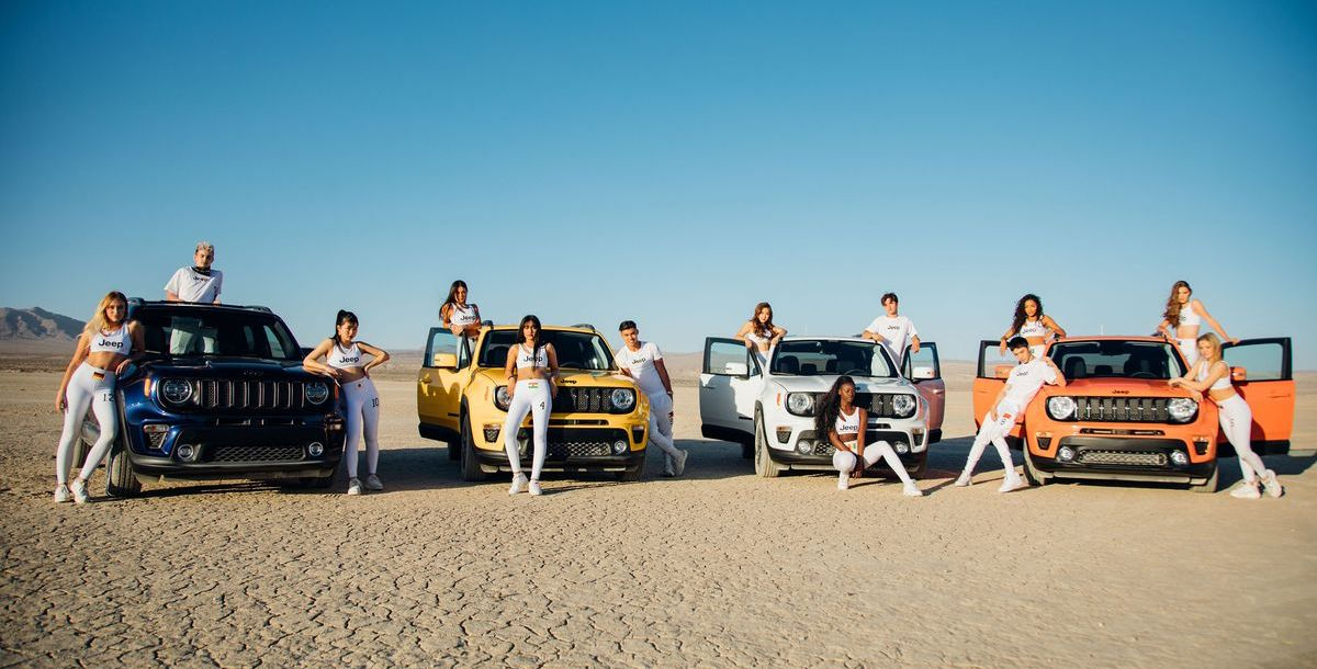 """Jeep® schließt Partnerschaft mit aufstrebender Pop-Gruppe """"Now United"""""""