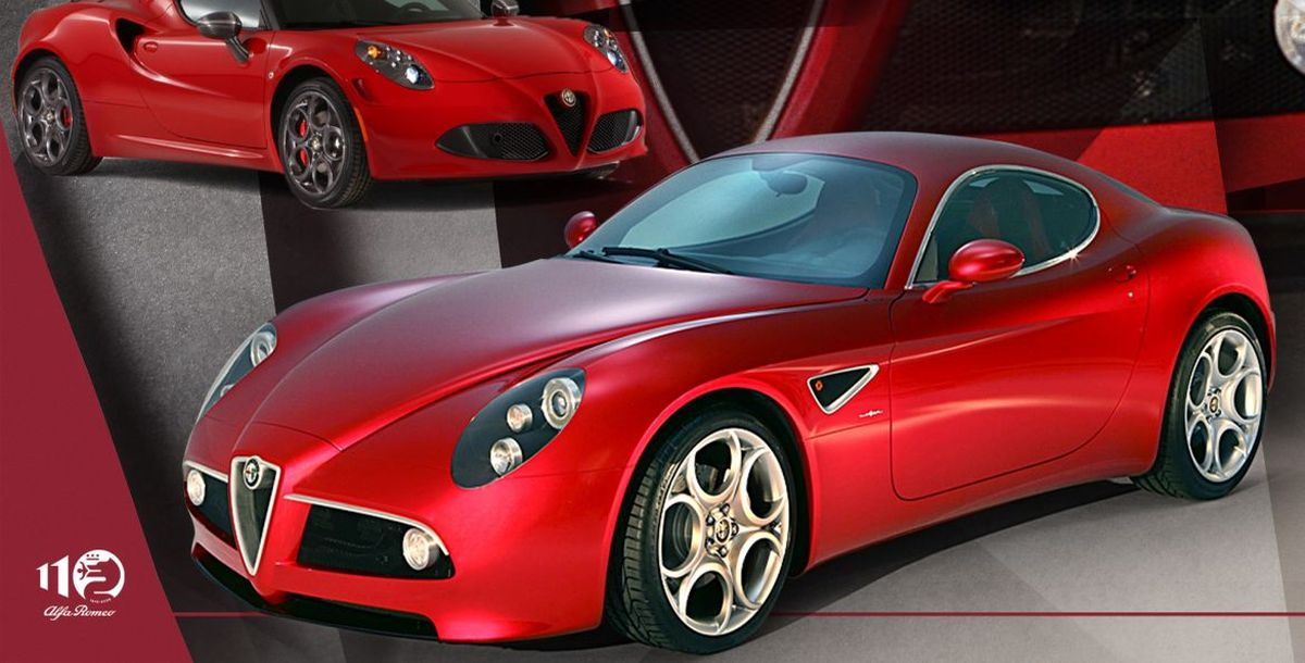 110 Jahre Alfa Romeo im Zeitraffer, neunte Episode: Alfa Romeo 8C Competizione – ein futuristisches Supercar mit traditionellen Wurzeln