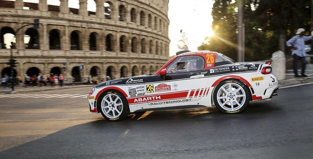 Drei Teams im Abarth Rally Cup 2020 am Start