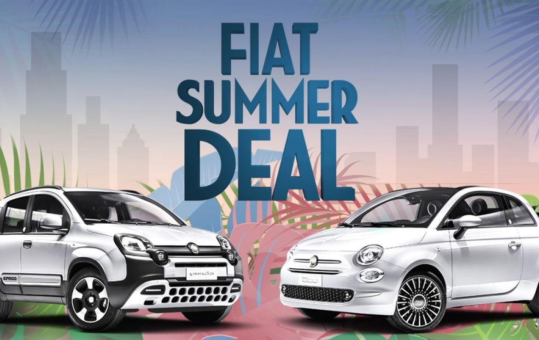 """Umwelt schonen und Geld sparen mit dem """"Summer Deal"""" - Sonderfinanzierungen für Hybrid-Modelle von Fiat 500 und den neuen Fiat Panda Urban"""