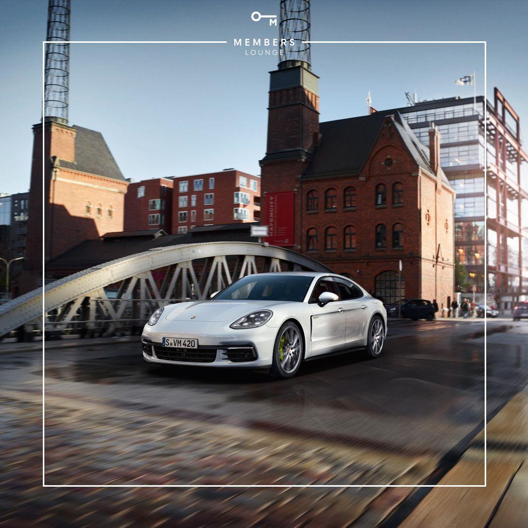 Rasantes Netzwerken mit der Memberslounge und dem Porsche Zentrum Hamburg Nord-West
