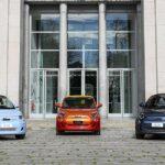 Markenchef Olivier François stellt neuen Fiat 500 beim ersten Testdrive vor