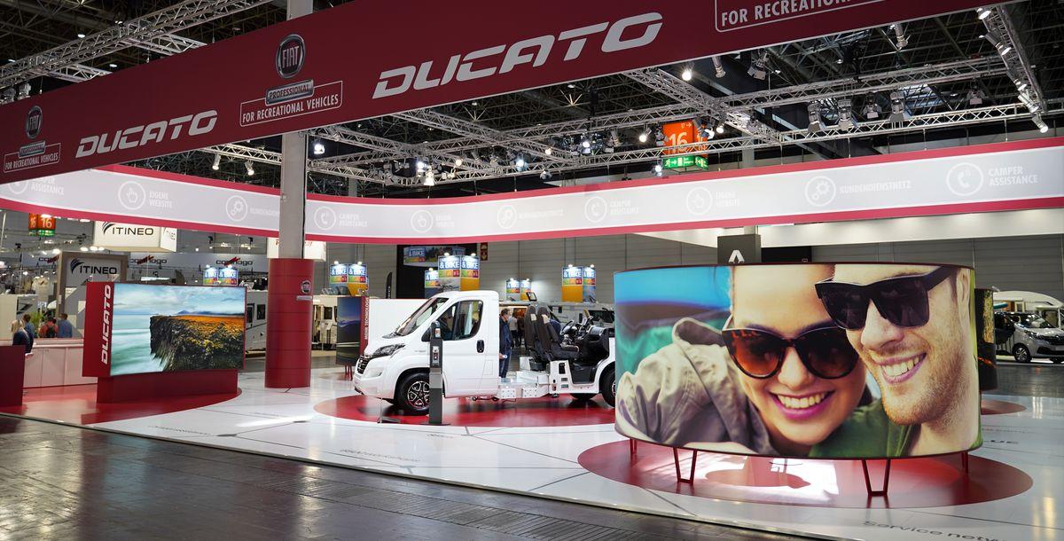 Fiat Professional auf den Reisemobil-Messen in Düsseldorf und Parma