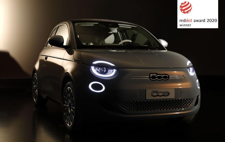"""Neuer Fiat 500 mit Designpreis """"Red Dot Award"""" ausgezeichnet"""