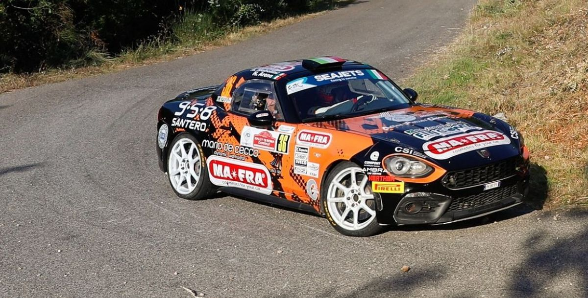 Rallye Fafe Montelongo in Portugal: Im Rahmen der FIA ERC findet der dritte Event des Abarth 124 rally statt. Die italienische Formel 4 powered by Abarth startet in Mugello